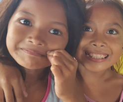 필리핀 민다나오 바자우 종족 아이들에게 복음을 전해주세요!